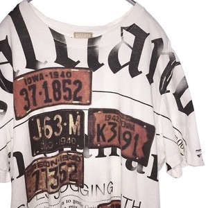 JOHN GALLIANO PRINTED TEE