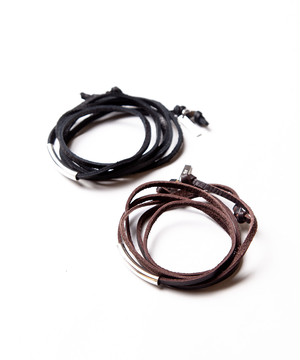 Ayler アイラー / 3way leather necklace / Ay-016