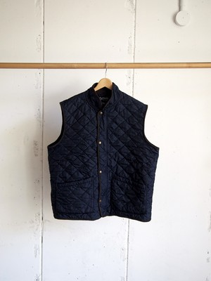USED / CHAPS, quilted vest