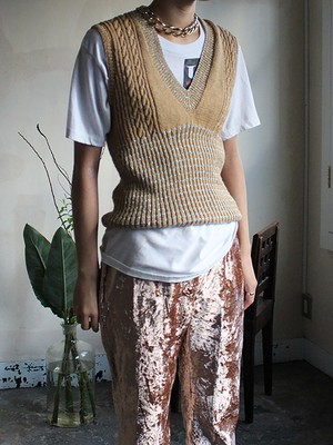 70s Hand made  Vest