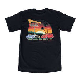 IN-N-OUT BURGER 2021 A Fresh New Year Tee - black