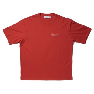 SO ORIGINAL Embroidered T-SHIRT(RED)