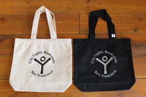 CITY LIGHTS BOOK STORE / STORE LOGO TOTE BAG