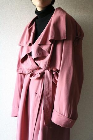 Vintage draped collar coat