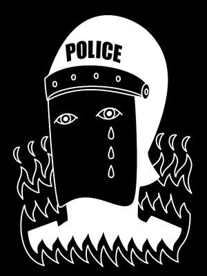 平和の鐘が鳴り響き 僕はただ悲しいふりをする Tシャツ ブラック