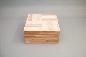 スギ集成材 組立式「小上がりユニット」ショートタイプ