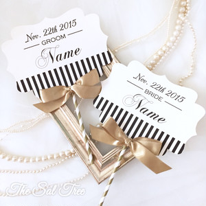 【size2】-名前入り-Wedding Photo Props