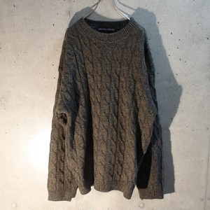 Pierre cardin cable wool knit