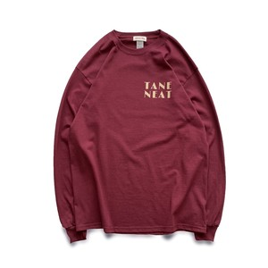 TANE  NEAT  long T-shirts ( Burgundy )