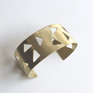 Triangle plate bangle No.803