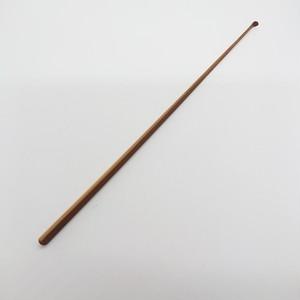 2煤竹製ハンドメイド耳かき (ケース付き)