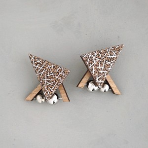 pierced earrings C-P32/earrings C-E32<silver>