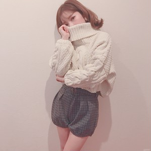 volume turtle short knit (A18-1003K)