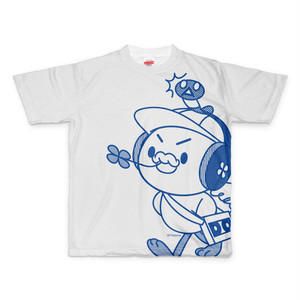 PERORINE I love music A フルグラフィックTシャツ