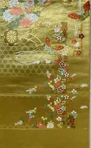 花車 袋帯