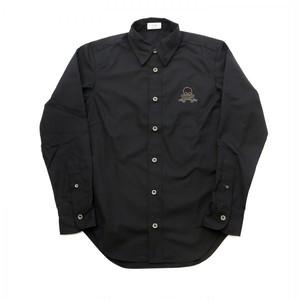 【Yami】 black skull shirt