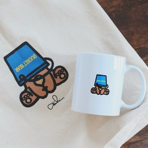 Bucket Bear - Mug & Tote Bag