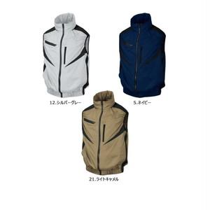 シンメン 空調ウェア 05902 ベスト 服のみ フード付き エスエアー 熱中症対策 EUROスタイル おすすめ