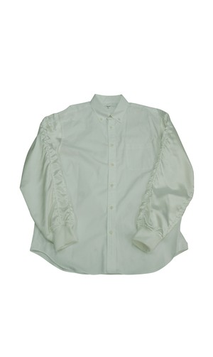 SUKA-SLEEVE SHIRTS ( WHITE )
