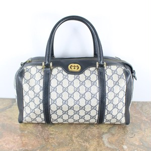 .OLD GUCCI GG PATTERNED BOSTON BAG MADE IN ITALY/オールドグッチボストンバッグ 2000000046105