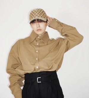 予約注文商品 ビックカラーシャツ ★MEN シャツ オーバーサイズ 韓国ファッション
