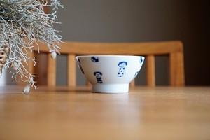 砥部焼/くらわんか茶碗(小)/コケシ/森陶房kaori