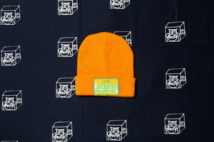 HELLO KNIT CAP (GOLD YELLOW)