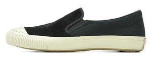 ANACHRONORM×PRAS-SHELLCAP SLIP-ON KURO×OFF.WHITE