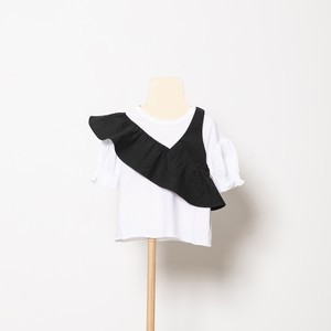 folk made one shoulder (black) Mサイズ F21SS011 ※メール便1点までOK