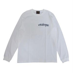 【LOGO L/S TEE】white