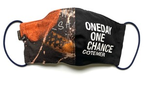 【COTEMER マスク 日本製】ONE DAY ONE CHANCE BAND MASK 0519-189