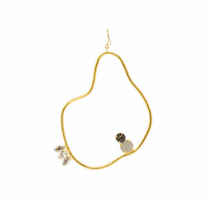 CLAY BIJOUX PIERCE -M -PEAR