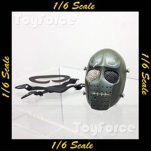 【02714】 1/6 Loading Toys ホッケーマスク グリーン