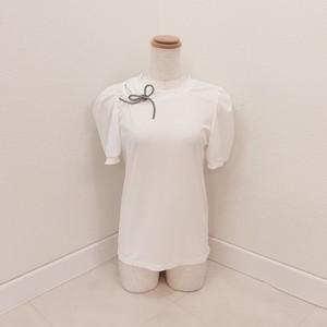 shoulder ribbon tee