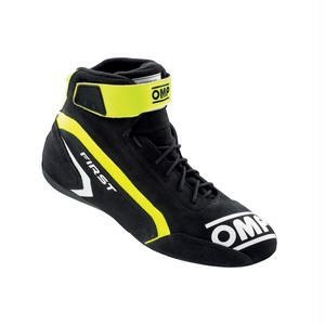 IC/824182 FIRST SHOES MY2021 Anthracite/fluo yellow