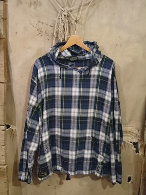 90s FLANNEL PARKA