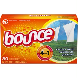 Bounce Outdoor Fresh 4-In-1 Dryer Fabric Softener Sheets 80 Pk