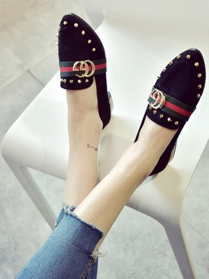 【shoes】New pointed fashion flat shoe