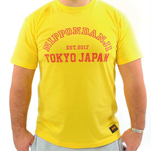 NDJ COLLEGE TEE Yellow