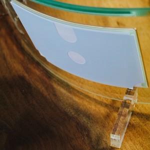 2個セット 赤ちゃん 手形 足形 ガラス フォトフレーム 誕生月 スワロフスキー ラインストーン 誕生日 送料無料