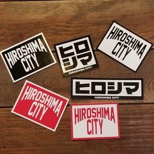 HIROSHIMA CITY ステッカー