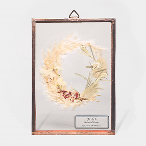 Botanical Frame S018(A_Gold)