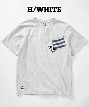 CHUMS チャムス BOOBY CARRY POCKET TEE