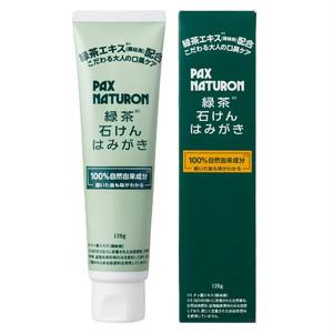 パックスナチュロン 緑茶石けんはみがき 120g (歯磨き粉)