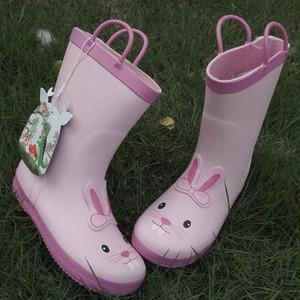 雨靴 キッズ  子供 子ども  ジュニア 長靴 男児 女児  レインブーツ 女の子 男の子 レインシューズ14cm-19.4cm 7869