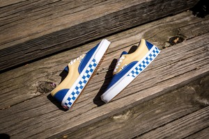 ERA  (BMX CHECKERBOARD) TRUE BLUE/YELLOW