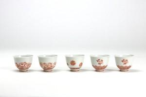 堀川 十喜 煎茶碗5客