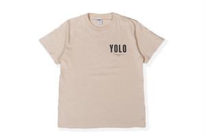 6/12[土]発売【YOLO surf T-shirt】/ sand beige
