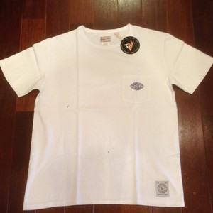 "Felco / フェルコ | "" CHEST LOGO RUBBER PRINT "" POCKET Tee - WHITE"