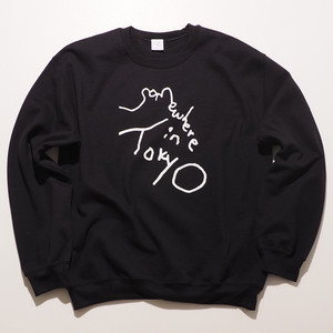 Sweat Shirt / Designed by Tomoo Gokita / Black